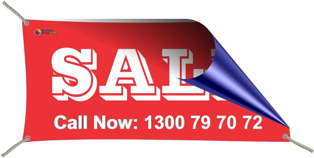 1 X 3 mtr PVC Vinyl Double Sided Sale Banner