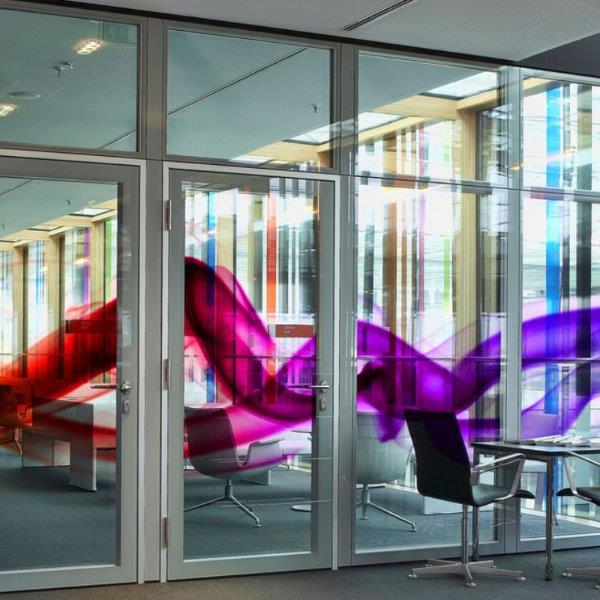 are available fr both inside and outside windows in clear and opaque designs and are easy to remove.